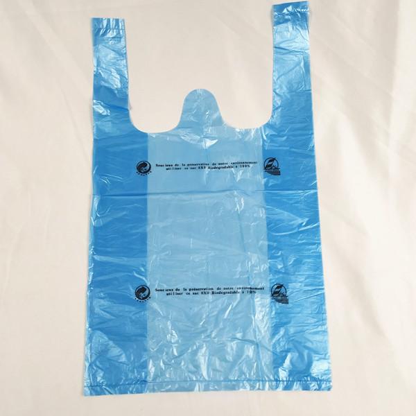 Eco-Friendly Oxo-Biodegradable Environmental Disposable Degradable Shopper Shopping Bag